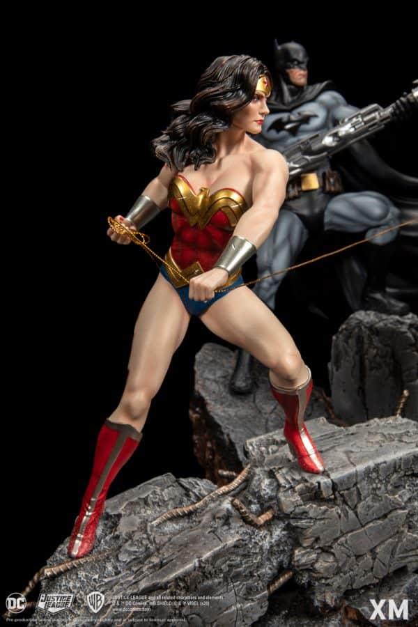 XM Studios Justice League vs Darkseid Diorama