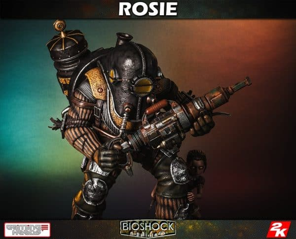 Gaming Heads BioShock Rosie and Little Sister Statue