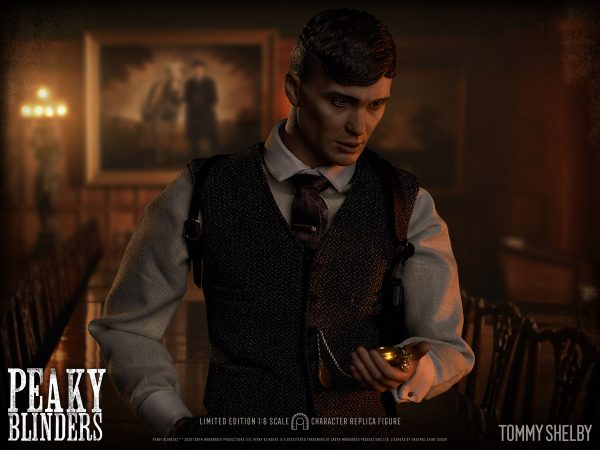 BIG Chief Studios Peaky Blinders Tommy Shelby 1:6 Scale Action Figure Pre-Order