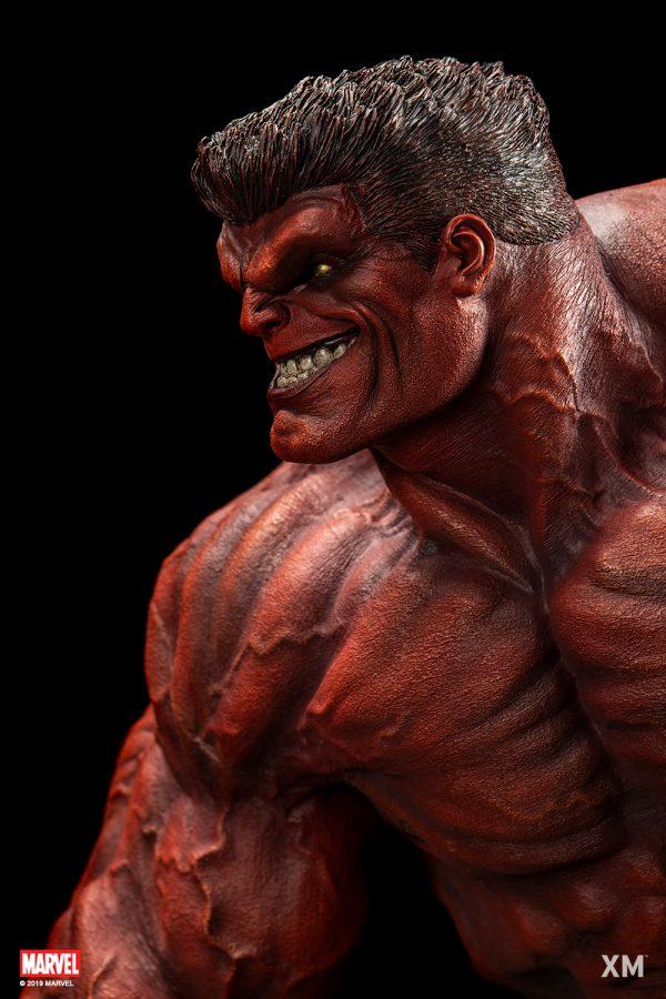 XM Studios Red Hulk