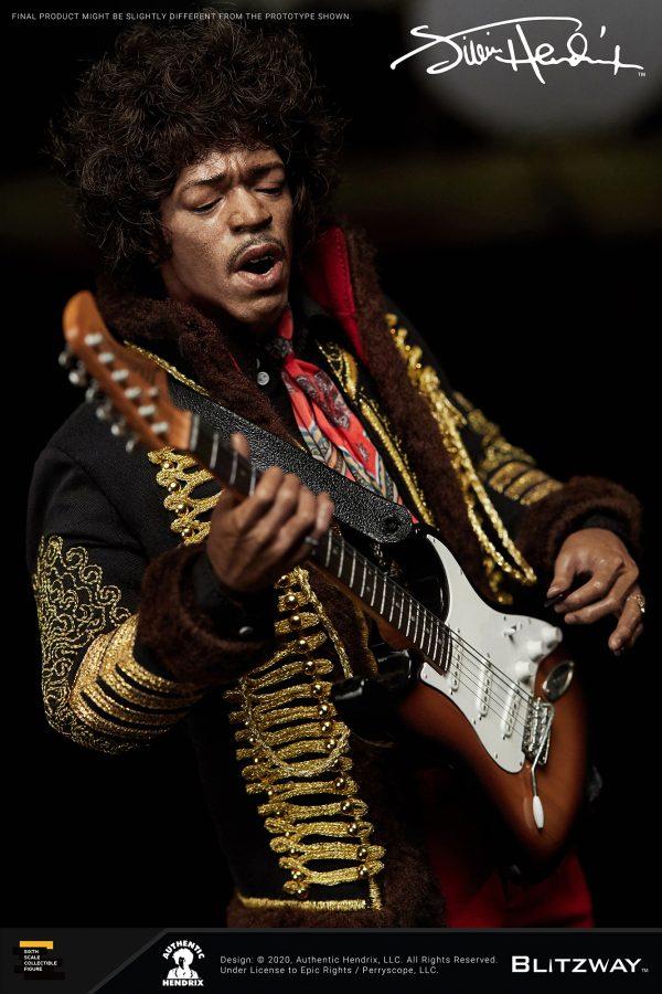 Blitzway Jimi Hendrix Premium 1:6 Scale Figure