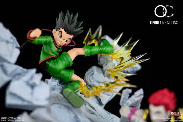 GON VS HISOKA – BATTLE AT THE HEAVENS ARENA-1/6 SCALE DIORAMA Pre-Order