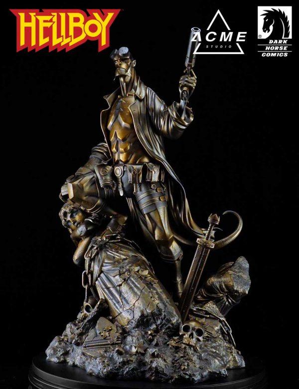 ACME Studios Hellboy - Ver. B (Faux Bronze) EDITION SIZE: 138 XM EXCLUSIVE