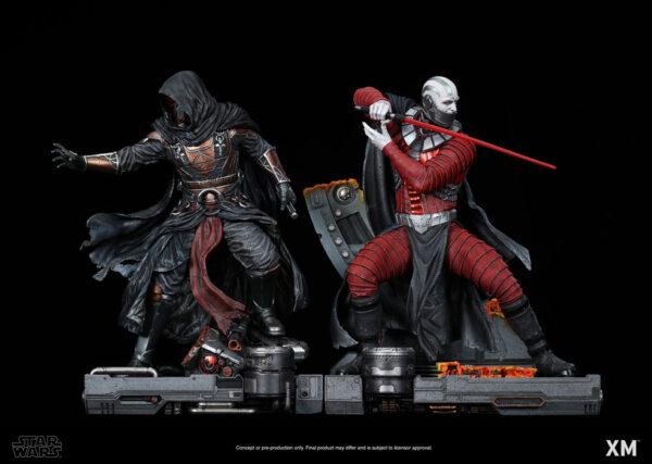 XM Studios Darth Malak & Darth Revan Set Pre-Order