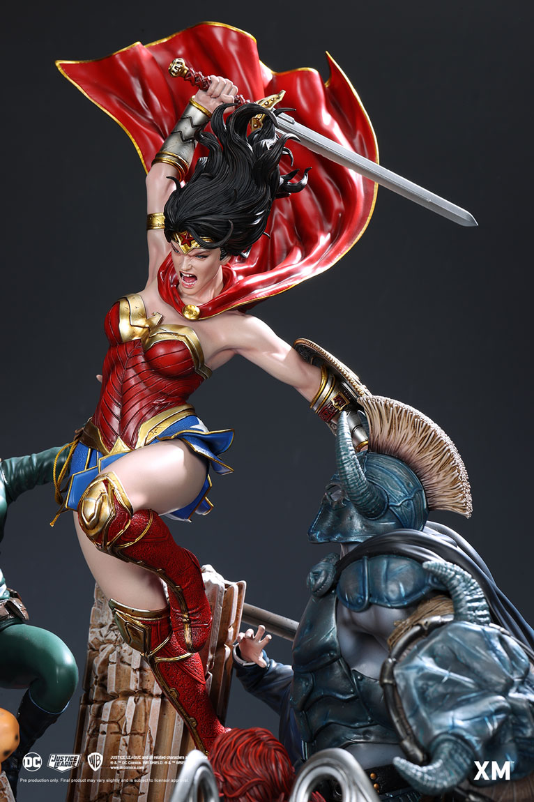 Wonder Woman Courage David Finch - Full Color Ver Pre ...