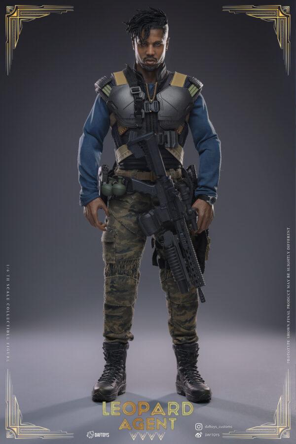 Daftoys leopard agent figure Pre-Order
