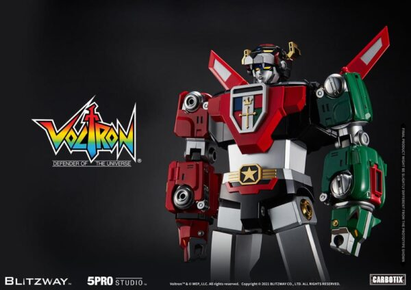 Blitzway Voltron: Defender of the Universe Carbotix Series Voltron Pre-Order
